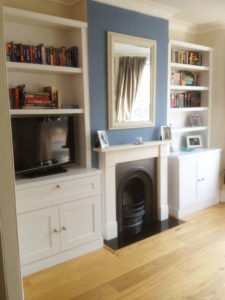 Built-in Cupboards Project After