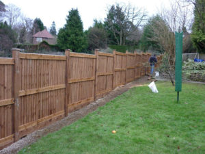 New Fence Installation Finished