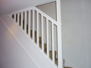 New Bannister After